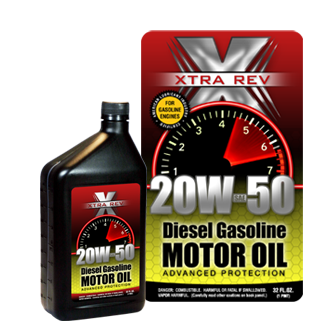 Graphic Design Label project for Motor Oil